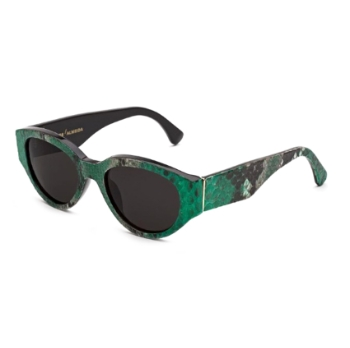 Super Drew Mama IS80 2YP Green Sunglasses