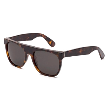 Super Flat Top Classic I709 E8N Havana Sunglasses
