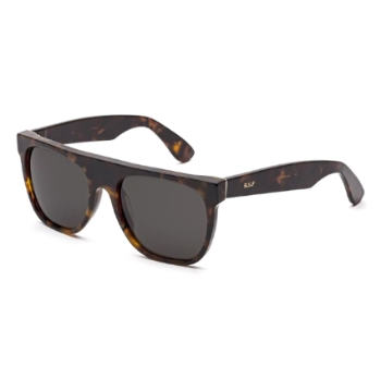 Super Flat Top I3HD UY6 Classic Havana Sunglasses