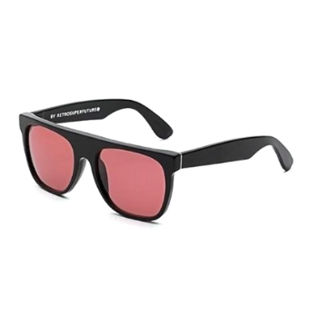 Super Flat Top ISM0 N9T Melanzana Sunglasses