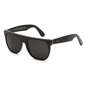 Super Flat Top IYN4 FZQ Black Sunglasses
