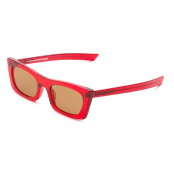 Super Fred INYA 06J Crystal Red Sunglasses