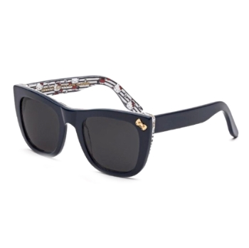 Super Gals Kids I8VG 1PF Black Sunglasses