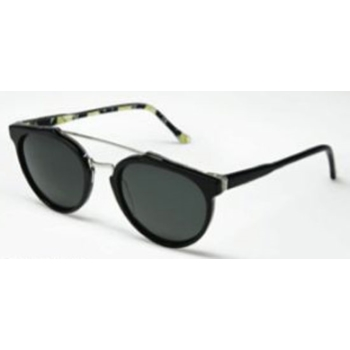 Super Giaguaro Black Taormina 656 Sunglasses
