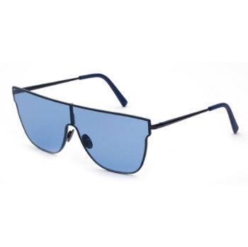 Super Lenz Flat Top INF6 95H Blue Large Sunglasses