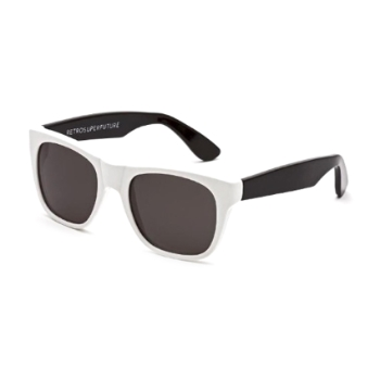 Super Kids Classics IKKF 227 White & Black Sunglasses