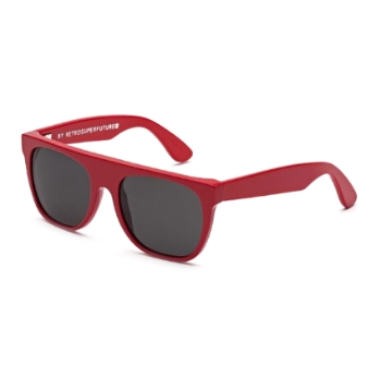 Super Kids Flat Top ICCX 312 Red Sunglasses