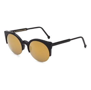 Super Lucia ITI2 TI7 Black 24K Sunglasses