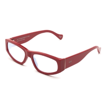 Super Neema IS0L LVM Deep Red Eyeglasses
