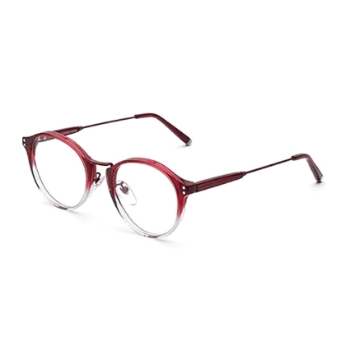 Super Numero 43 IIN4 AP8 Bordeaux Faded Eyeglasses
