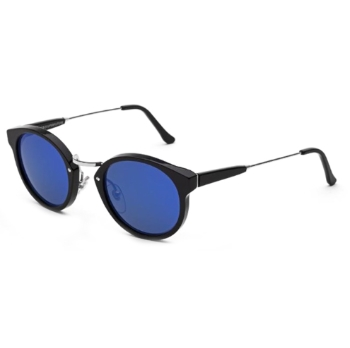Super Panam I3UX C5M Black Blue Sunglasses