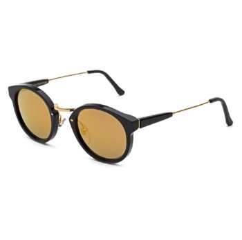 Super Panam INF0 4SU Black 24K Sunglasses