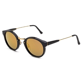 Super Panam INF0 PID Black 24K Large Sunglasses
