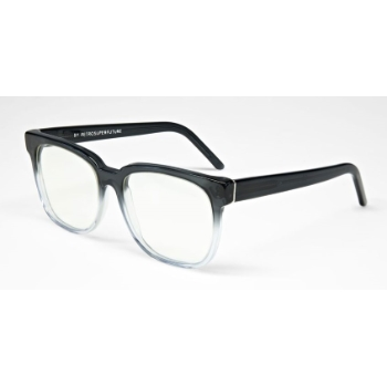 Super People IT80 822 Faded Grey & Crystal Large Eyeglasses