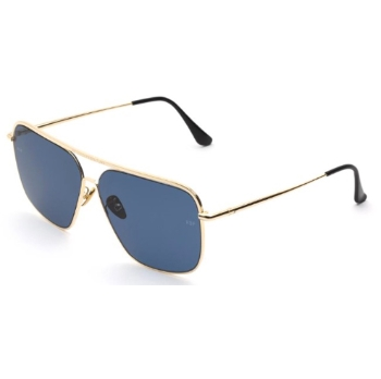 Super Ponti IMWT J7A Blue Sunglasses