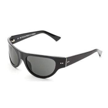 Super Reed IX40 8S7 Black Sunglasses