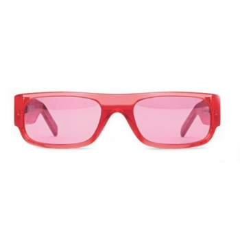 Super Smile I2X2 PVC Red Sunglasses