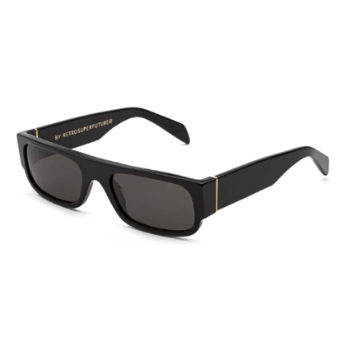Super Smile IBWT U6G Black Sunglasses