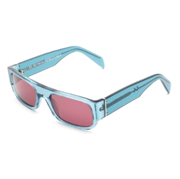 Super Smile IG6U O64 Teal Blue Sunglasses