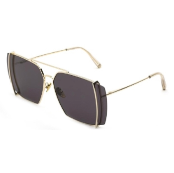 Super Teorema IOIU 9L9 Black Sunglasses