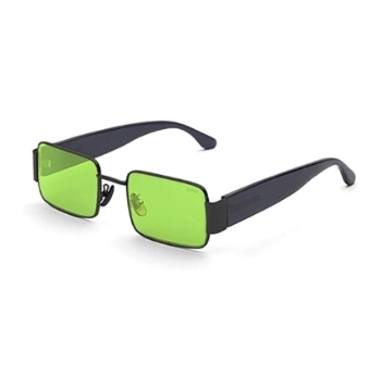 Super The Z IUV5 P5X Acid Green Sunglasses