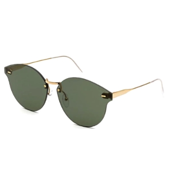 Super Tuttolente Panama I1G4 FV8 Green Large Sunglasses