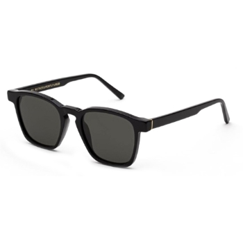 Super Unico I681 0TB Black Asian Fit Sunglasses