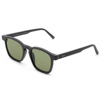 Super Unico IGDS P6T Black Matte Sunglasses