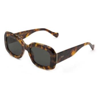 Super Virgo IQ90 D13 Spotted Havana Sunglasses