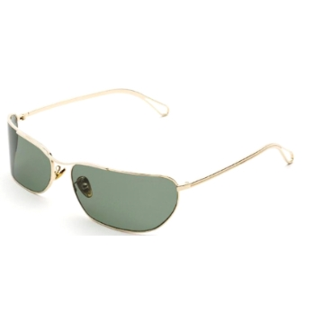 Super Zebedia I5AH 5BA Green Sunglasses