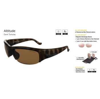 Switch Altitude Dark Tortoise/Contrast Amber Reflection Bronze Non-Polarized Sun Kit Sunglasses