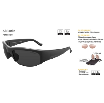 Switch Altitude Matte Black/True Color Grey Reflection Silver Non-Polarized Sun Kit Sunglasses