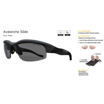 Switch Avalanche Slide Gun Metal/True Color Grey Reflection Silver Non Polarized Sun Kit Sunglasses