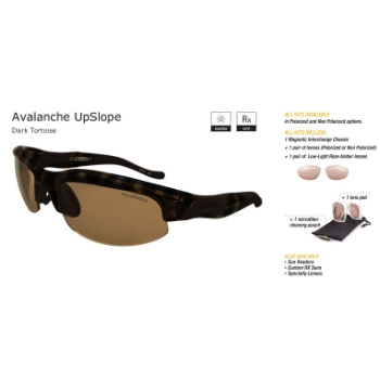 Switch Avalanche Upslope Dark Tortoise/Contrast Amber Reflection Bronze Non Polarized Sun Kit Sunglasses