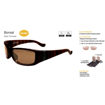 Switch Boreal Dark Tortoise/Contrast Amber Reflection Bronze Non Polarized Sun Kit Sunglasses