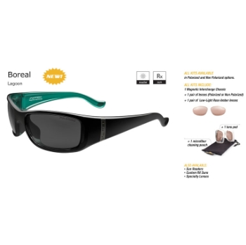 Switch Boreal Lagoon/True Color Grey Reflection Silver Non Polarized Sun Kit Sunglasses