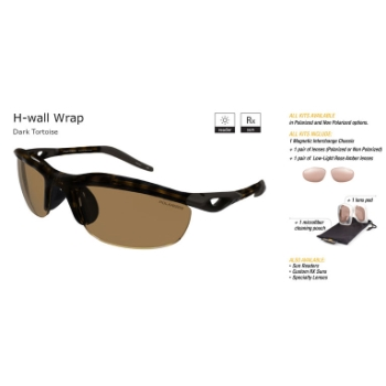 Switch H-Wall Wrap Dark Tortoise/Contrast Amber Reflection Bronze Non Polarized Sun Kit Sunglasses