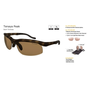 Switch Tenaya Peak Dark Tortoise/Contrast Amber Reflection Bronze Non Polarized Sun Kit Sunglasses