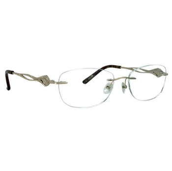 Totally Rimless TR Pave 242 Eyeglasses