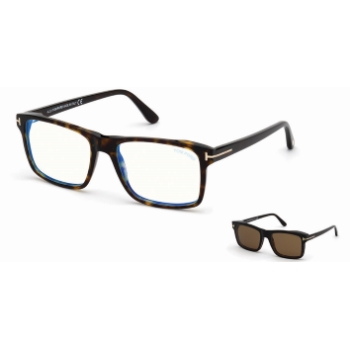 Tom Ford FT5682-B w/Clip On Eyeglasses
