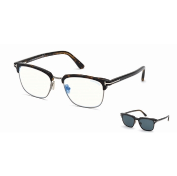 Tom Ford FT5683-B w/Clip On Eyeglasses