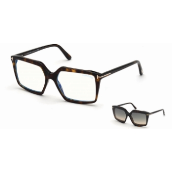 Tom Ford FT5689-B w/Clip On Eyeglasses