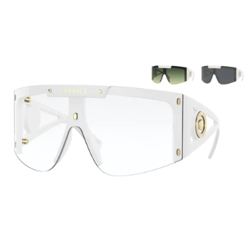 Versace VE 4393 w/ Shield Clip-On Eyeglasses