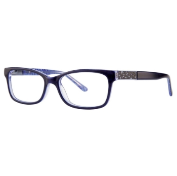 Vivid Womens Embellishment 621 Eyeglasses