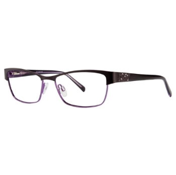 Vivid Womens Embellishment 626 Eyeglasses