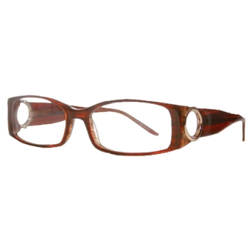 Vivid Womens Embellishment 680 Eyeglasses