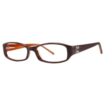 Vivid Womens Embellishment 681 Eyeglasses