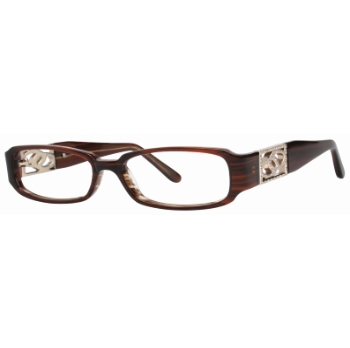 Vivid Womens Embellishment 693 Eyeglasses