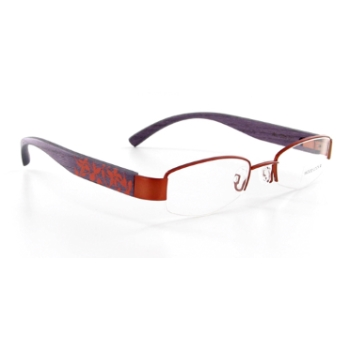 Wood Look by Gold & Wood WL005 (Wood Temples) Eyeglasses