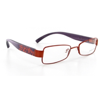 Wood Look by Gold & Wood WL007 (Wood Temples) Eyeglasses